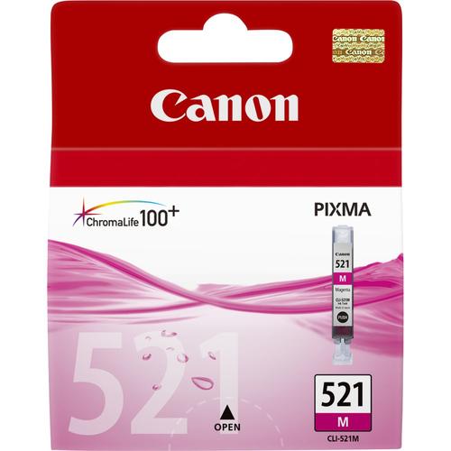 CANON SERBATOIO MAGENTA CLI-521M PER PIXMA IP4600 - IP4700
