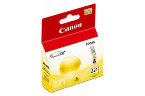 SINOTEX CARTUCCIA CC-221Y_SIN CANON CLI-221Y GIALLO  PER IP3600/IP4600/IP4700,MP550/MP560/MP620/MP630/MP640/MP860/MP980/MP990