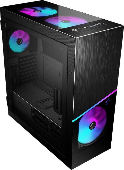 MSI CASE MPG SEKIRA 500X ATX, 5 USB 3.2, 7 DRIVER BAYS 3,5
