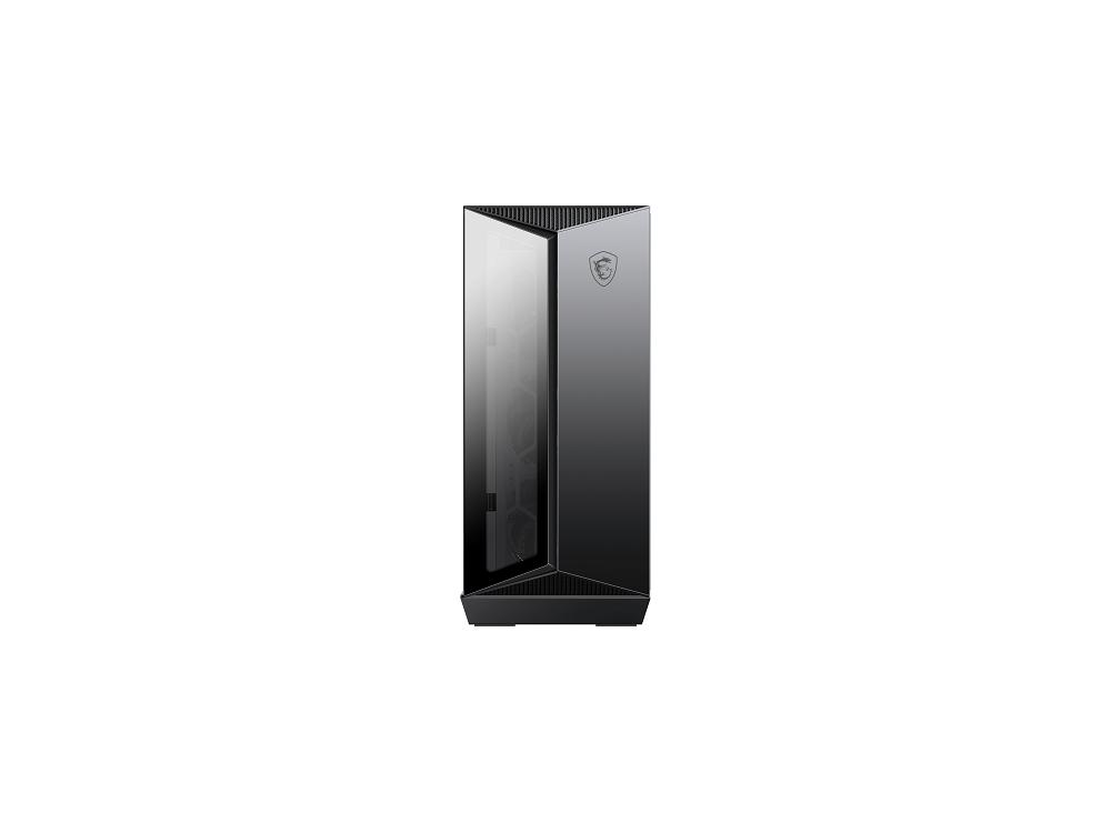 MSI CASE ATX MID-TOWER GUNGNIR 110R, 7 SLOT HDD/SSD, 3x120MM ARGB FAN FRONT, 1x120MM ARGB FAN REAR, 2xUSB 3.2 TYPE-A, 1xUSB 3.2 TYPE-C, WINDOW PANEL IN VETRO, COLORE NERO