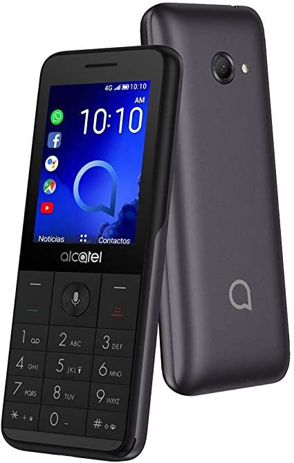 ALCATEL TELEFONO 3088 LTE DUAL SIM 2.4 METALLIC GREY
