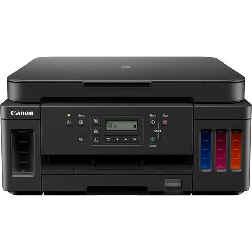 CANON MULTIF. INK PIXMA G6050 COLORI A4 13PPM FRONTE/RETRO USB/WIRELESS/ETHERNET 3IN1 - FLACONI INK. INCLUSI, FINO A 18K PAGINE