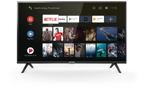 TCL TV 32 DIRECT LED HD ANDROID TV 8.0 BLACK