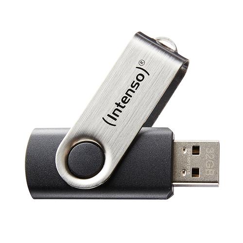 INTENSO PEN DISK 16GB USB 2.0 BASIC LINE BLACK