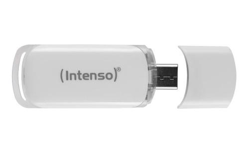 INTENSO PEN DISK 128GB USB 3.1 TYPE C FLASH LINE GREY