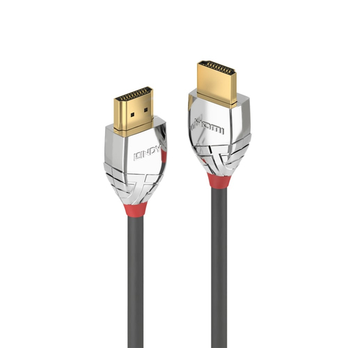 LINDY CAVO HDMI HIGH SPEED CROMO LINE SUPPORTA RISOLUZIONI UHD 2M M/M