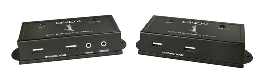 LINDY SWITCH EXTENDER KVM CLASSIC CAT.6 HDMI USB-HID AUDIO 50M