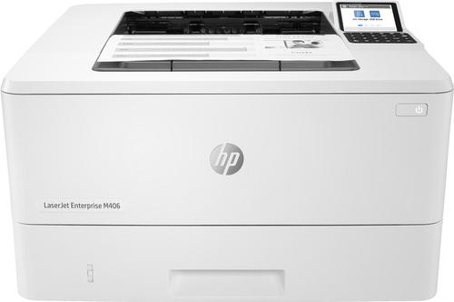HP STAMPANTE LASER M406DN A4 B/N 40PPM FRONTE/RETRO, USB/LAN