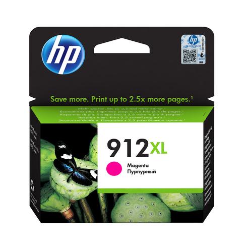 HP CART. INK MAGENTA N. 912XL PER OFFICEJET 8012, 8013, 8014, 8015, 8022, 8024, 8025, 8035
