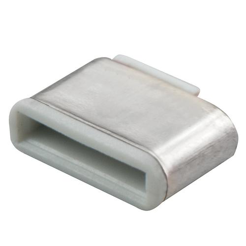 LINDY BLOCCA PORTE USB TIPO C SENZA CHIAVE 10PEZZI BIANCO