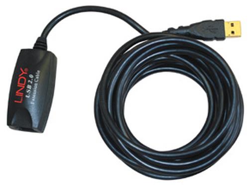 LINDY PROLUNGA ATTIVA USB 2.0. 5M