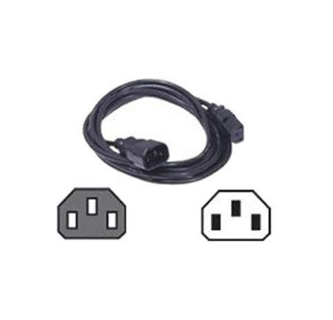 DELL C13 TO C14  PDU STYLE  10 AMP  6.5 FEET (2M)  POWER CORD  CUSTOMER KIT
