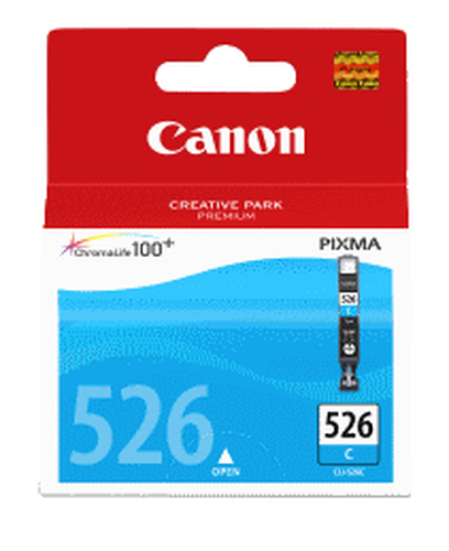 CANON CARTUCCIA CLI-526C CIANO 9 ML MG5150/5250/6150/8180 IP4850 4541B001