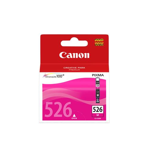 CANON CARTUCCIA CLI-526M MAGENTAO 9 ML MG5150/5250/6150/8180 IP4850 4542B001