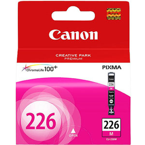 SINOTEX CARTUCCIA CANON CLI-226M MAGENTA PER MG8120/MG6120/MG5220/MG5120/IP4820/MX882/IX6520/MG5210/IP4810