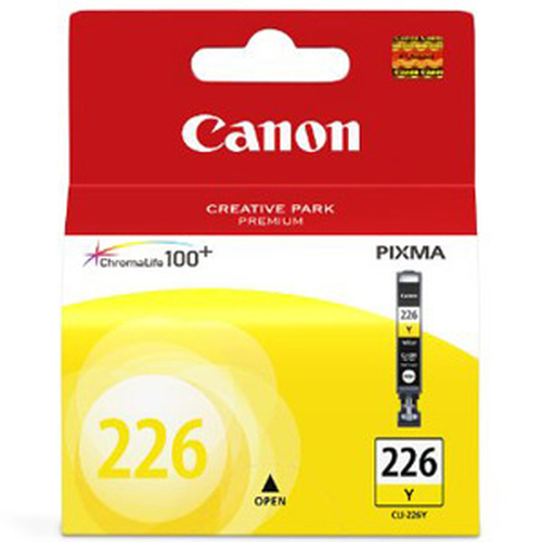 SINOTEX CARTUCCIA CC-226Y_SIN CANON CLI-226Y GIALLO PER MG8120/MG6120/MG5220/MG5120/IP4820/MX882/IX6520/MG5210/IP4810