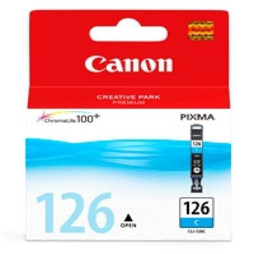 SINOTEX CARTUCCIA CC-126C_SIN CANON CLI-126C CIANO PER MG5210/IP4810/IX6510/MG6110
