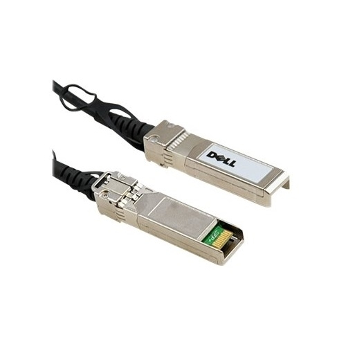 DELL DELL NETWORKING,CABLE,40GBE (QSFP+) TO 4 X 10GBE SFP+ PASSIVE COPPER BREAKOUT CABLE, .5M,CUST KIT