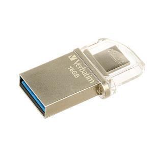 VERBATIM PEN DISK 16GB USB3.0+MICRO USB MCRO DIRVE OTG