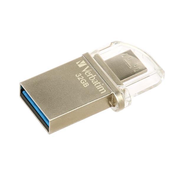 VERBATIM PEN DISK 32GB USB3.0+MICRO USB MCRO DIRVE OTG