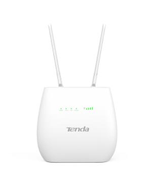 TENDA ROUTER 3G/4G LTE-VOLTE N300 2 ANTENNE ESTERNE, BIANCO