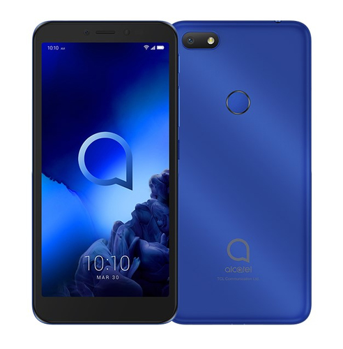ALCATEL SMARTPHONE DUAL SIM 1V 5,5 4G 16GB MICROSD 128GB ANDROID PIE GO EDITION METALLIC BLUE