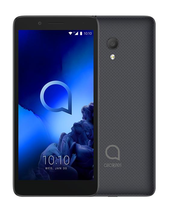 ALCATEL SMARTPHONE GSM 1C 2019 DUAL SIM 5 3GB ANDROID GO EDITION QUAD CORE 8GB MICROSD 32GB VOLCANO BLACK