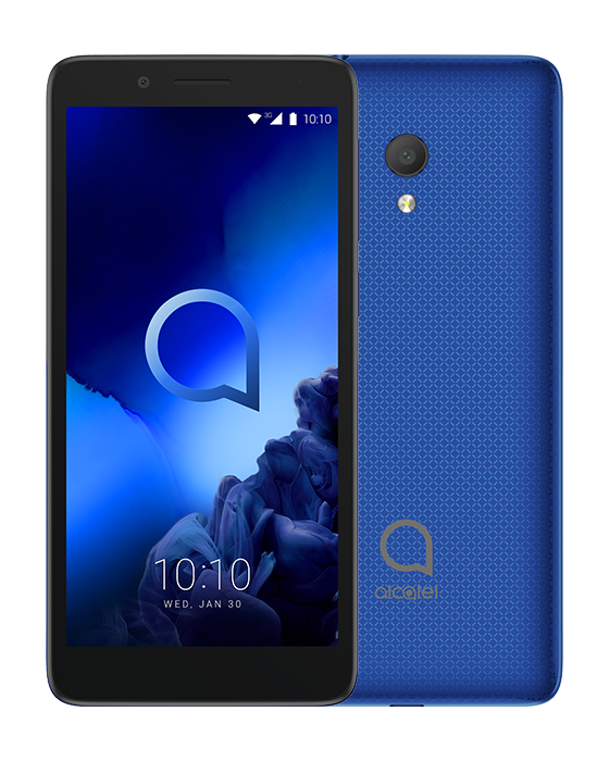 ALCATEL SMARTPHONE 1C 2019 DUAL SIM 5 3GB ANDROID GO EDITION QUAD CORE 8GB MICROSD 32GB ENAMEL BLUE