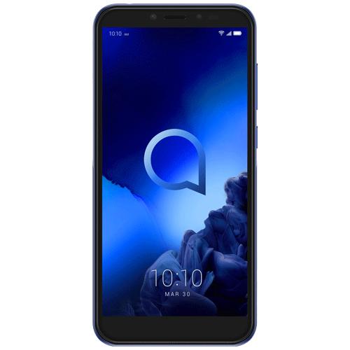 ALCATEL SMARTPHONE 1S 5,5 DUAL SIM ANDROID 9 PIE 32G  MICROSD 128GB GSM QUADBAND METALLIC BLUE