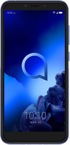 ALCATEL SMARTPHONE 1S 5,5 DUAL SIM ANDROID 9 PIE 4GB 64GB MICROSD 128GB GSM QUADBAND METALLIC BLUE