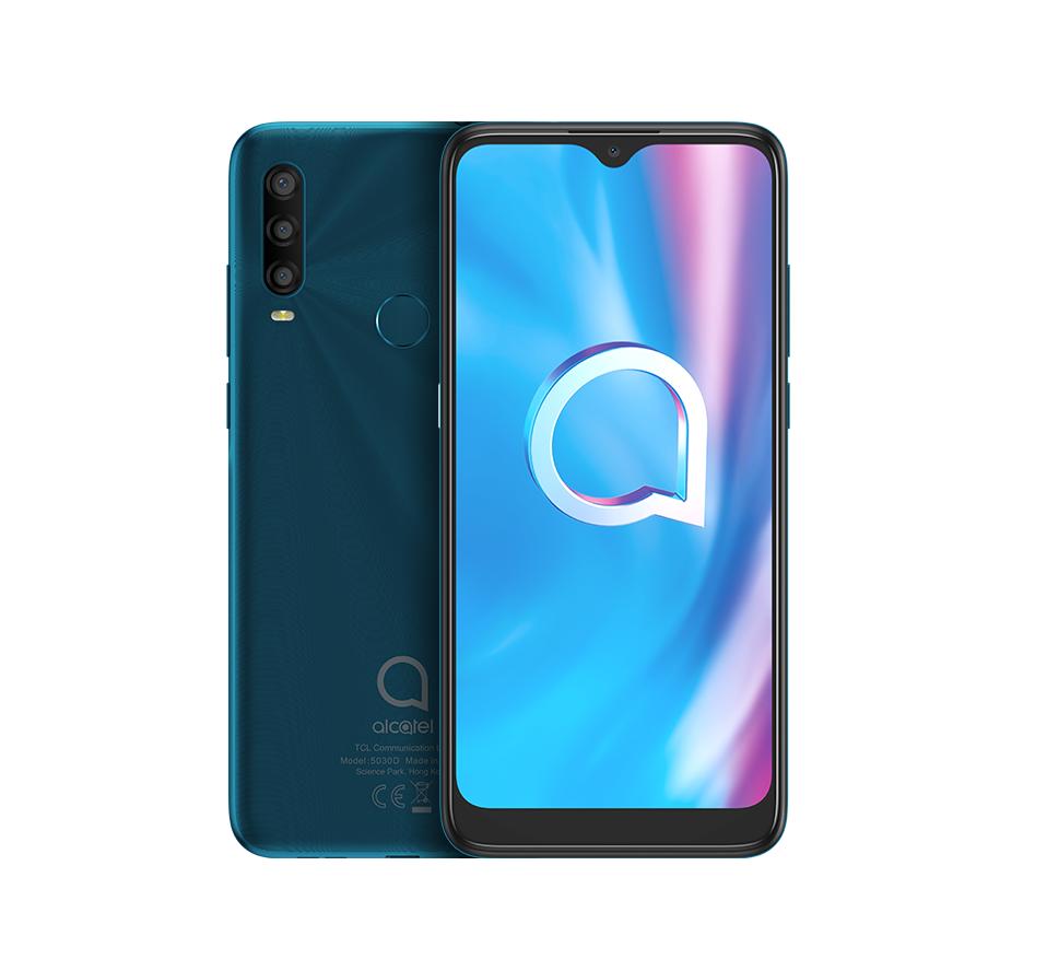 ALCATEL SMARTPHONE 1SE DUAL SIM 6,22 ANDROID 10 Q 3GB 32GB AGATE GREEN