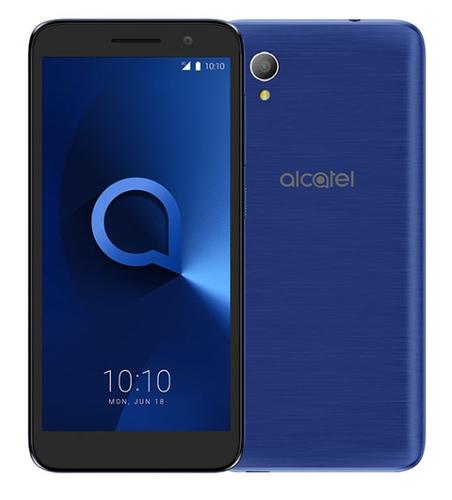 ALCATEL SMARTPHONE 1 2019 4,99 DUAL SIM ANDROID GO EDITION QUAD CORE 8GB MICROSD 32GB BLUISH BLACK