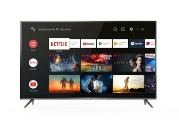 TCL SMART TV 50 4K UHD ULTRA SOTTILE CON HDR E ANDROID TV DVB-T2/C/S2