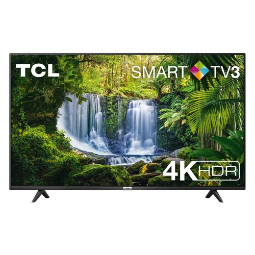 TCL TV 50 4K SLIM CON HDR E SMART TV 3.0 NERO