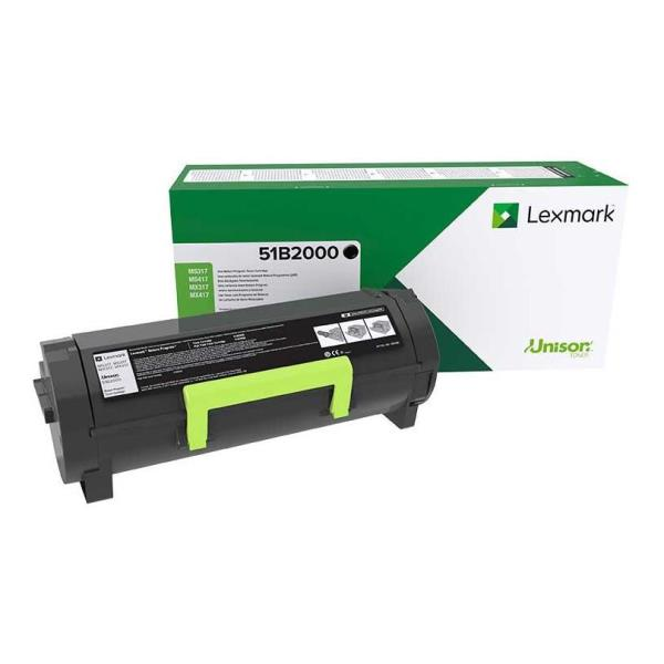 LEXMARK TONER NERO PER MS/MX 317/417/517/617 2500PAG RETURN PROGRAM