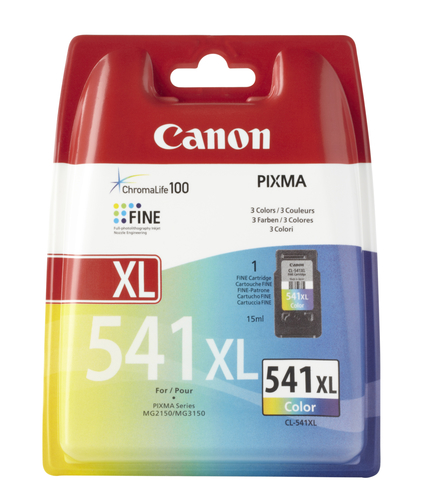 CANON CART. INK COLORE CL-541XL PER MG2150/3150