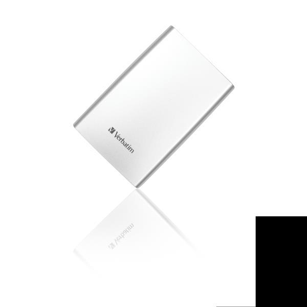 VERBATIM HDD EXT STORE N GO 500GB 2,5 USB3.0 SILVER