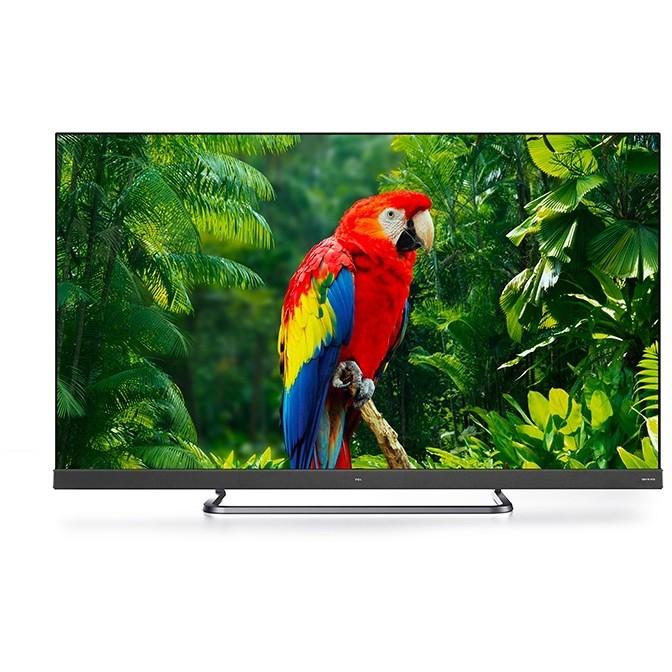 TCL TV 55 4K UHD ULTRA SOTTILE CON SOUNDBAR ONKYO E ANDROID TV