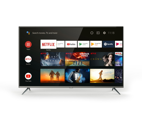 TCL TV 55 4K UHD ULTRA SOTTILE CON HDR E ANDROID TV DVB-T2/C/S2