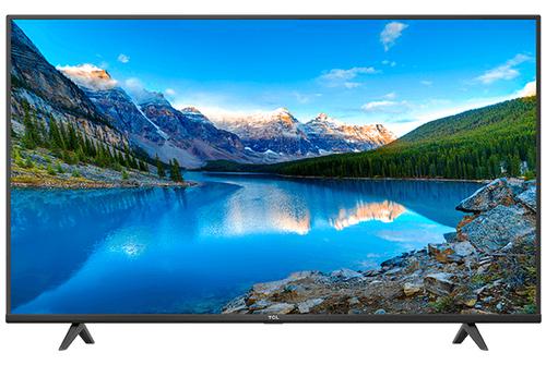 TCL TV 55 4K SLIM CON HDR ETCL TV 55 4K SLIM CON HDR E  ANDROID TV NERO