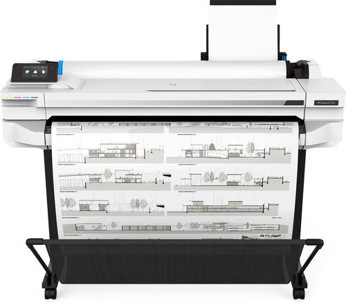 HP PLOTTER DESIGNJET T525 A0 36-IN USB/ETHERNET/WIFI TAGLIERINA AUTOMATICA INCLUSO PIEDESTALLO