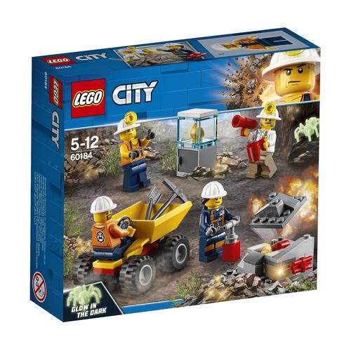 LEGO CITY: TEAM DELLA MINIERA