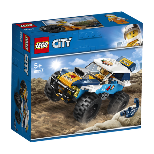 LEGO CITY: AUTO DA RALLY DEL DESERTO