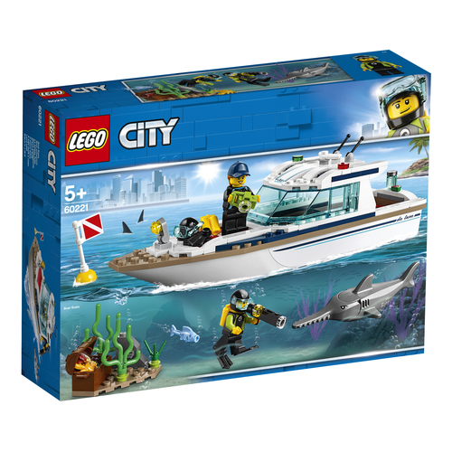 LEGO CITY: YACHT PER IMMERSIONI