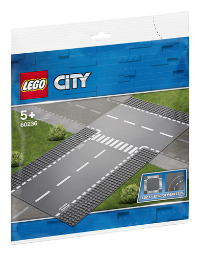 LEGO CITY: RETTILINEO E INCROCIO A T