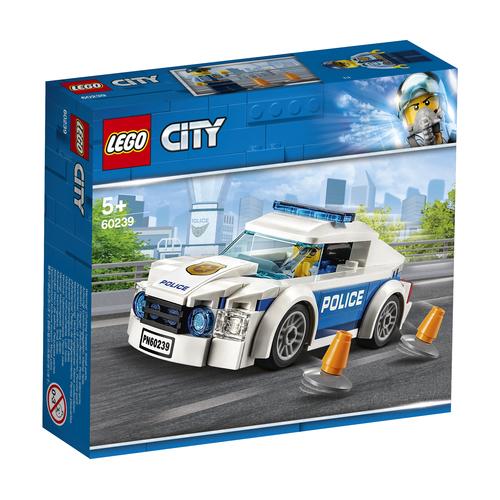 LEGO CITY: AUTO DI PATTUGLIA DELLA POLIZIA