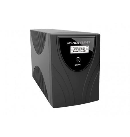 ADJ UPS SERVER SERIES 1000VA 3 PRESE IEC 320 C13 DISPLAY LCD