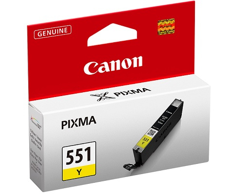 CANON CART. INK GIALLO CLI-551Y