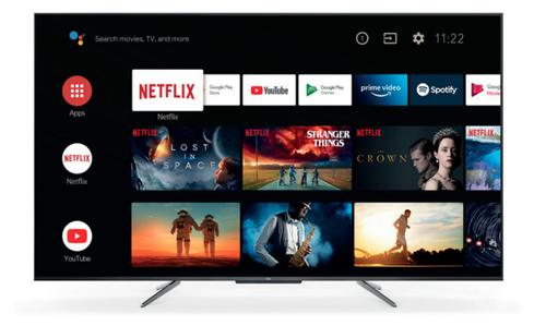 TCL TV 65 4K QLED ULTRA SOTTILE CON HDR PREMIUM NERO
