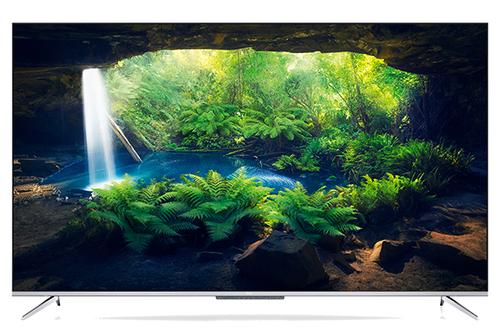 TCL TV 65 4K ULTRA SOTTILE CON HDR E ANDROID TV CON CORNICE IN METALLO